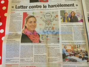 article harcelement courrier de l'ouest